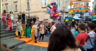 Teano / Sessa Aurunca – Lo spettacolo del Liceo Artistico di Cascano incanta CioccolaTeano (guarda il video)