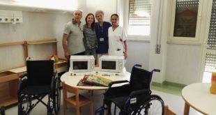 CASERTA – Ospedale, la solidarietà della famiglia Raucci per il reparto pediatria