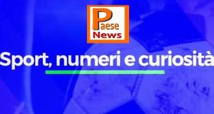 Sport numeri e curiosità  puntata n.37 Diretta video