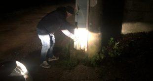 Teano – In fiamme cabina elettrica, paura per una famiglia