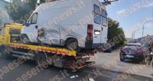Teano – Doppio incidente sulla provinciale, gravissimo operaio sidicino