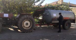 Sessa Aurunca – Smaltiva rifiuti speciali sul nudo terreno, denunciato