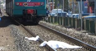 SAN MARCELLINO – Ucciso dall'Intercity, muore assicuratore 66enne