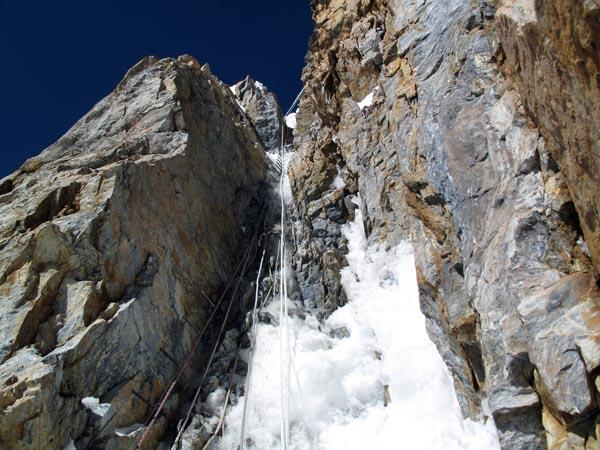 Immagini del tentativo di salita al K2 del luglio 2010