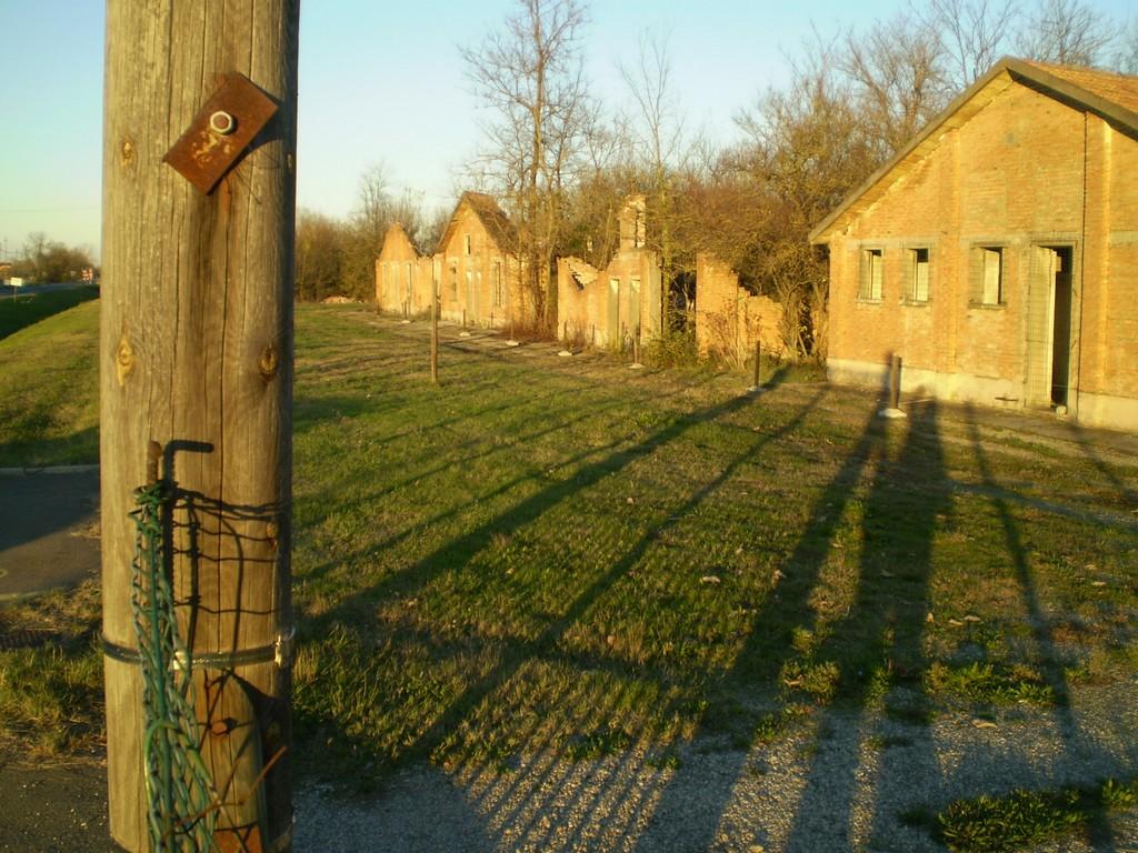 Campo di Fossoli  Lanticamera dei lager  Luoghi Fantasma
