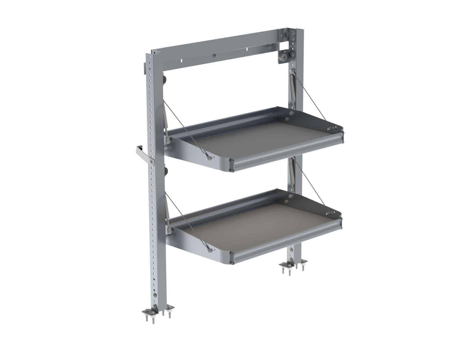 Ranger Delivery Van Shelving Package Ford Transit Connect Long Wb Tcl 19