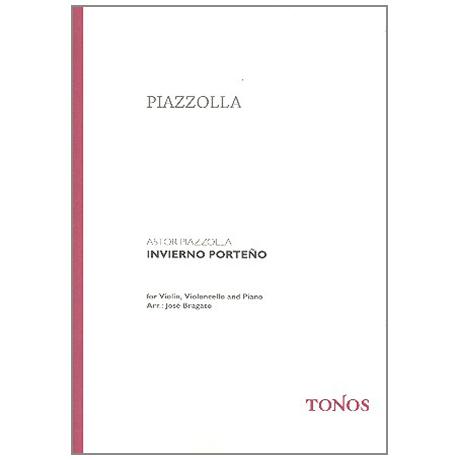 Piazzolla, A.: Invierno Porteño
