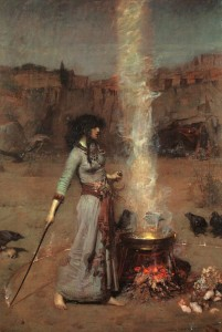 waterhouse_the_magic_circle