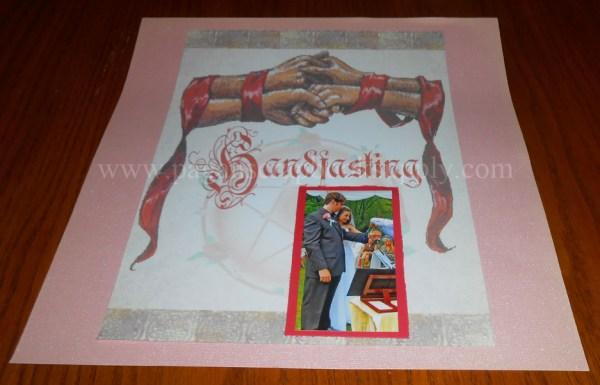 HandfastingWedding Cardstock 8 12 x 11 Inches