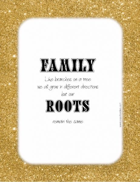 Family Posters Customize Online Amp Print At Home Free