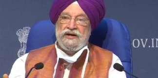 Petroleum Minister Hardeep Singh :
