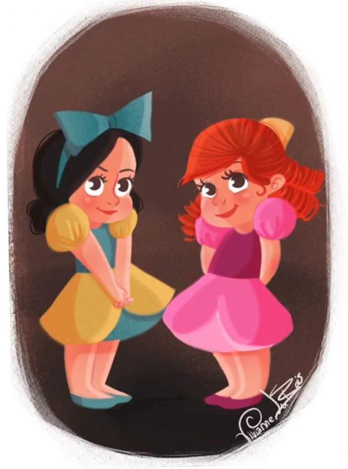 壞蛋也有純真的小時候啊~ 繪師畫「迪士尼幼兒反派」居然比公主萌 - PageCup