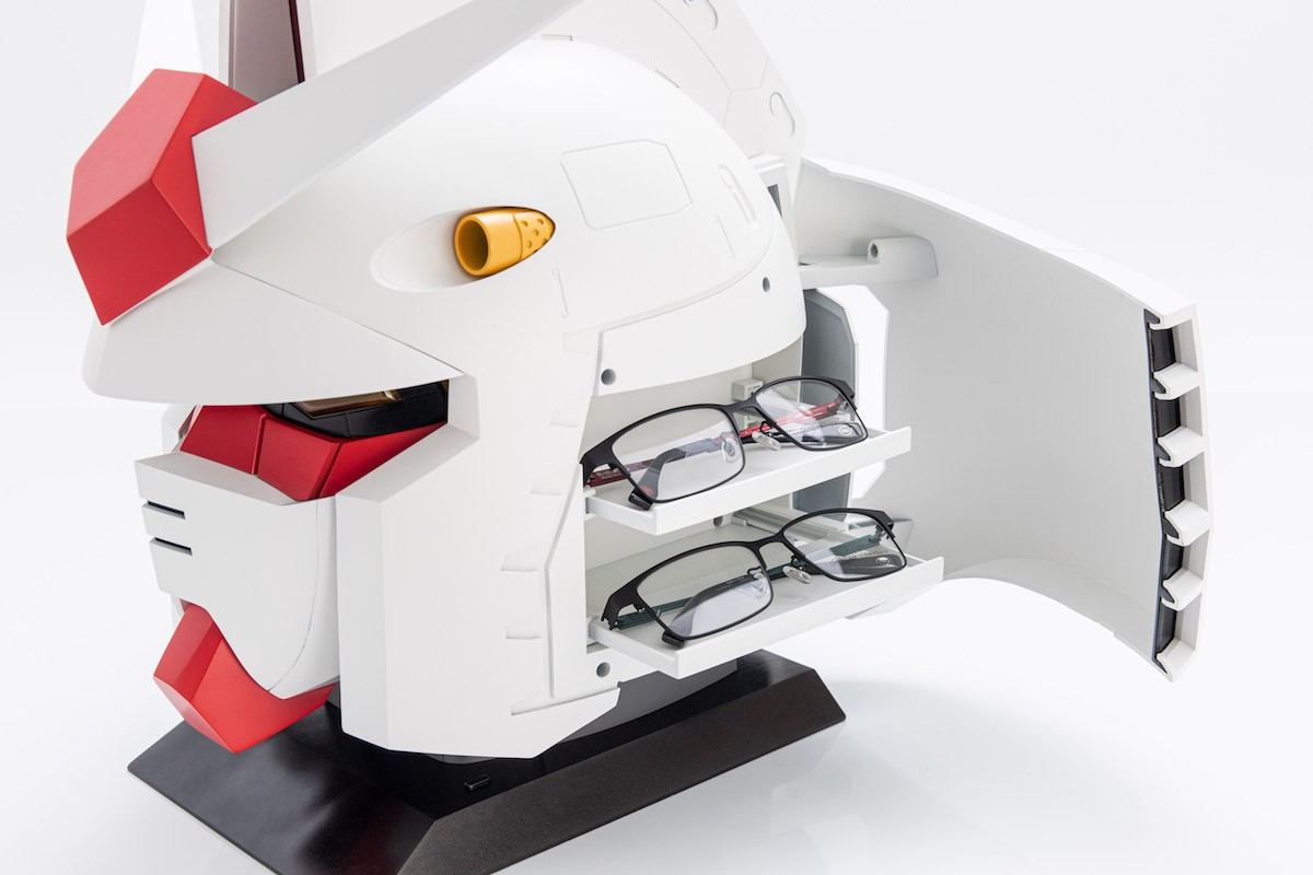 眼鏡盒是亮點! OWNDAYS x 鋼彈推40週年限定系列:有4款可選 - PageCup