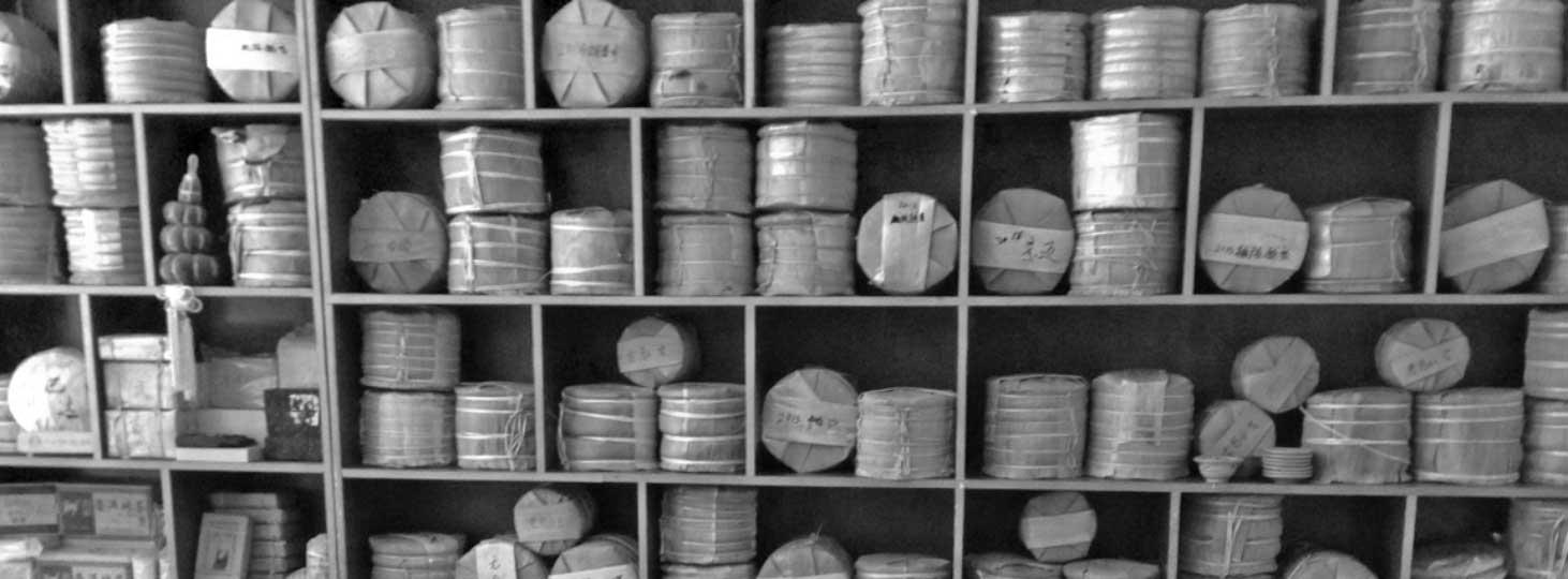 puer tea storage