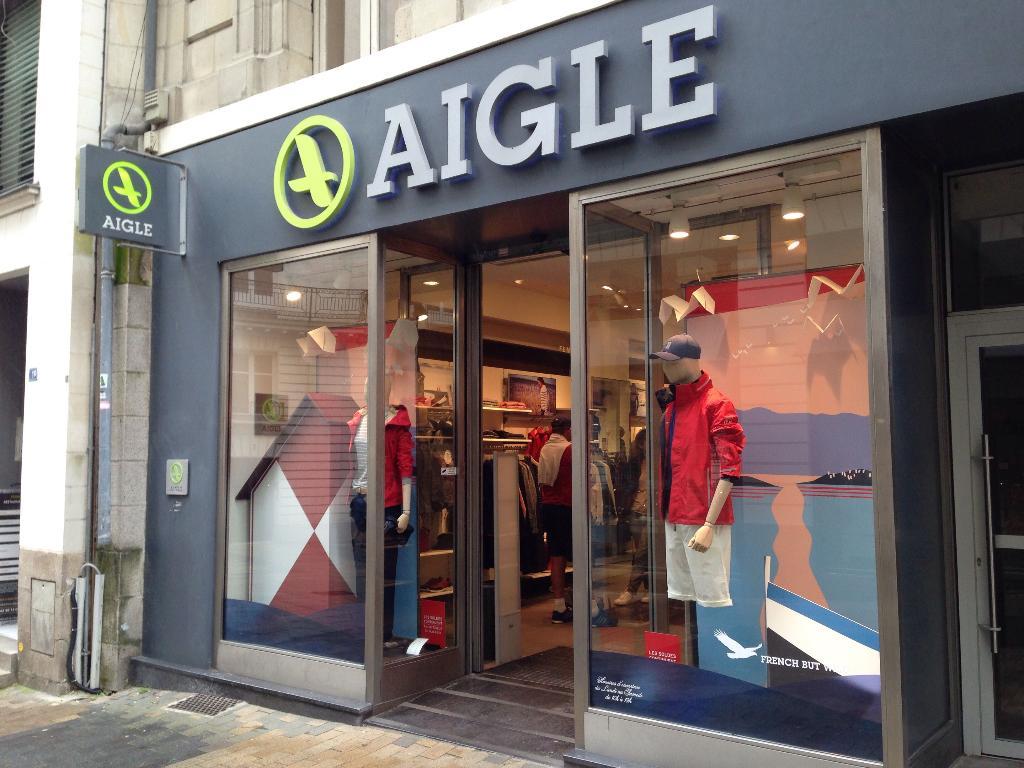 boutique aigle nantes nantes magasin