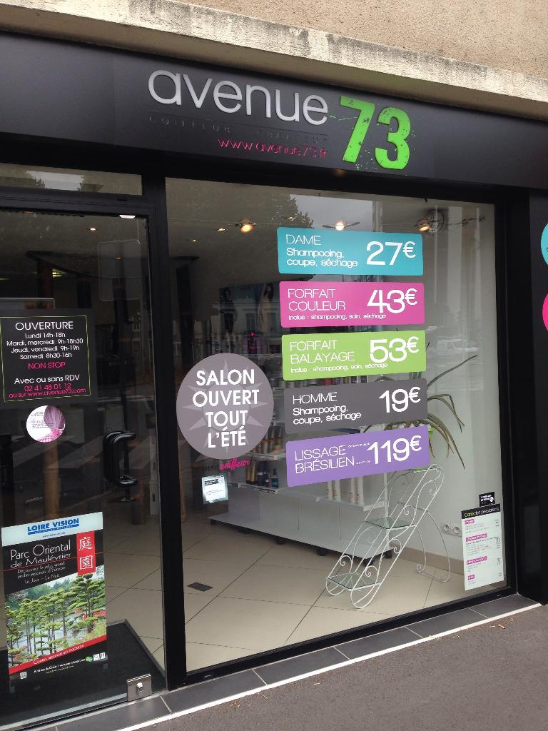 avenue73 angers coiffeur adresse