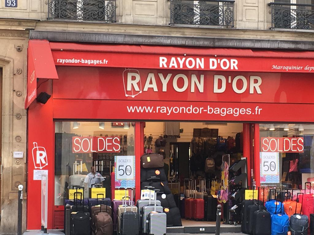 rayon d or paris maroquinerie adresse