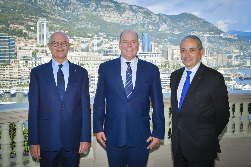 Accréditation de l'Ambassadeur de France à Monaco