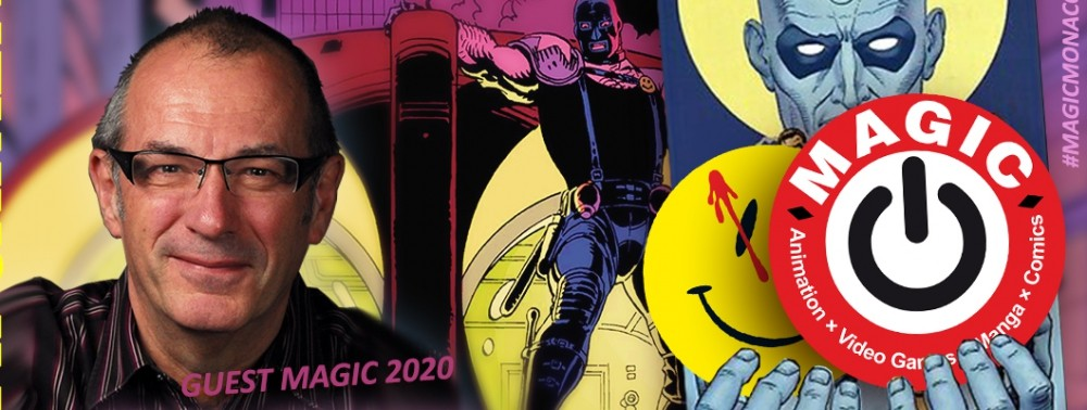 Dave Gibbons (Watchmen) invité du MAGIC 2020