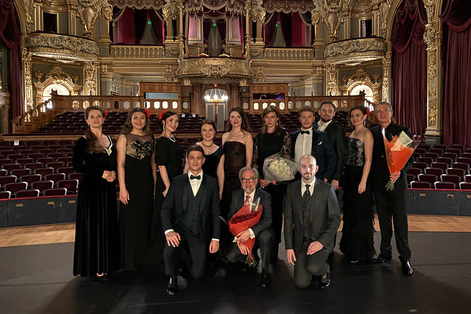 Remise des diplômes à l'Académie de l'Opéra de Monte-Carlo