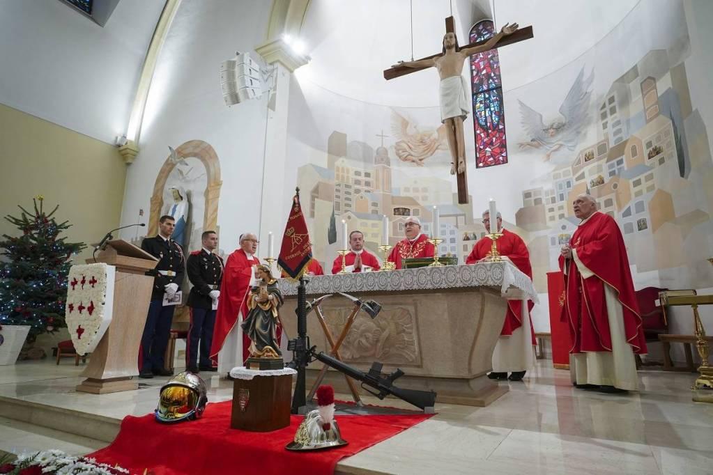 La Sainte-Barbe pour célébrer les sapeurs-pompiers