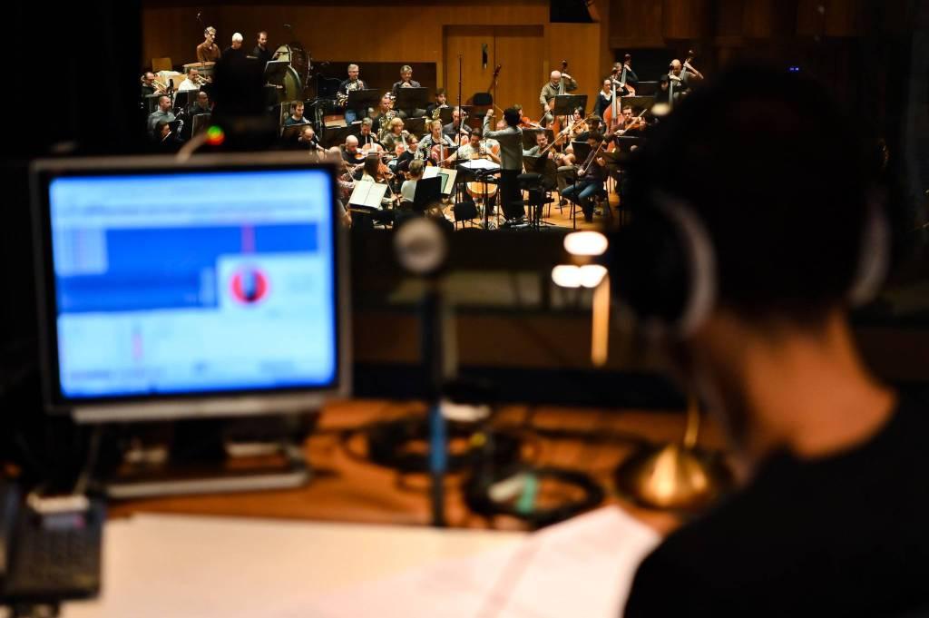 Le Philharmonique enregistre la musique du Pavillon de Monaco à l'Expo Dubai 2020