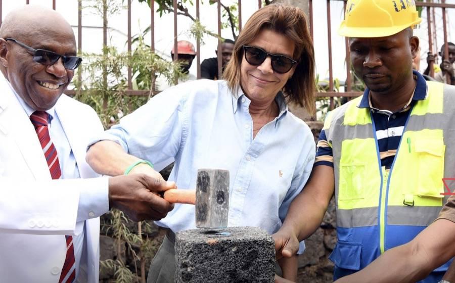 Le Chantier Lancé à Goma par La Princesse Caroline De Monaco Bientôt Achevé