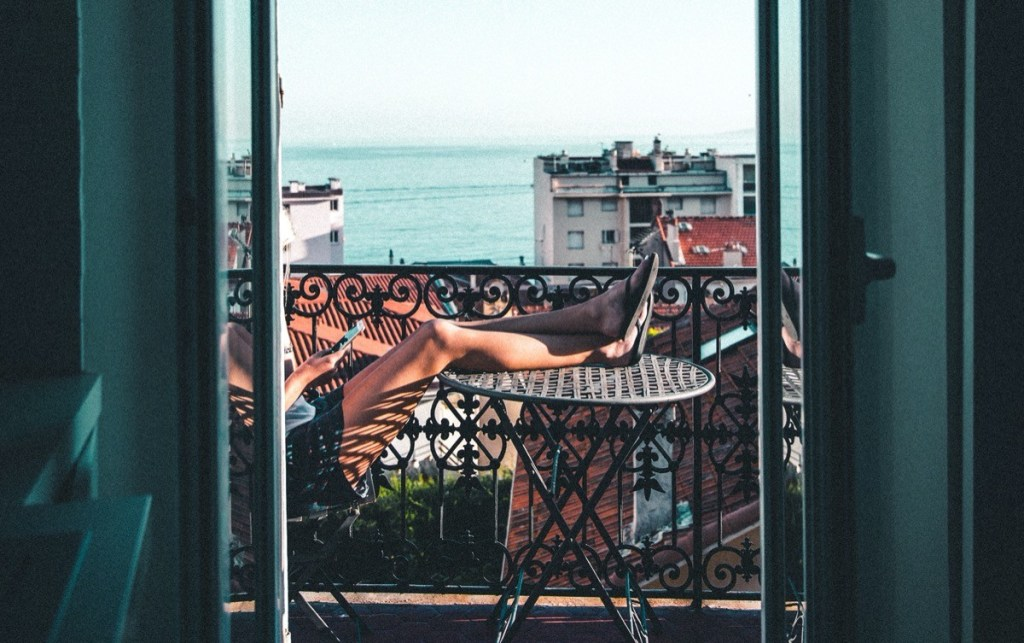 Confinement : Pâques au balcon !