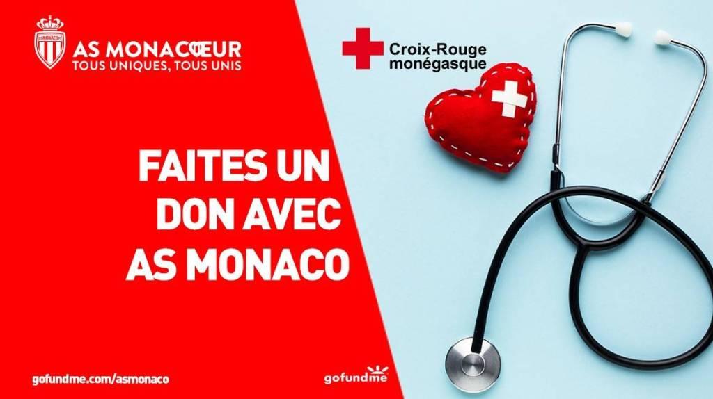 L'AS Monaco Se Mobilise Contre Le Covid-19