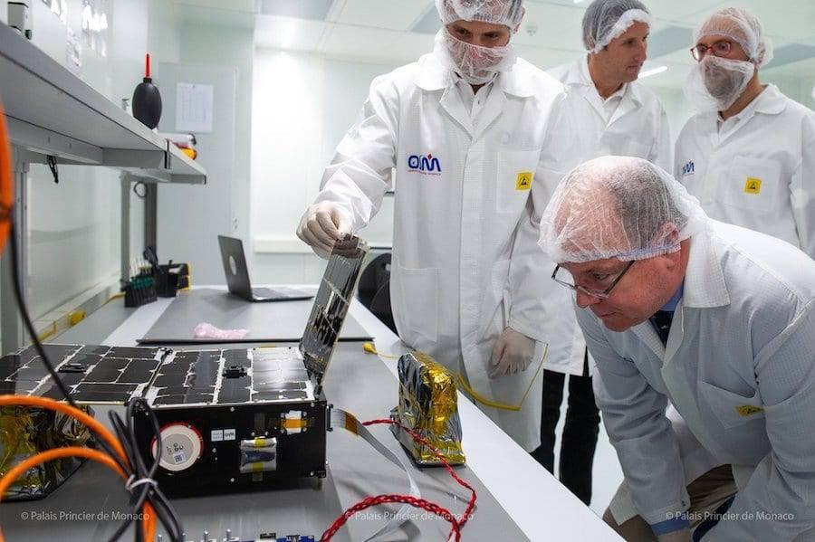 Lancement programmé pour le premier satellite monégasque