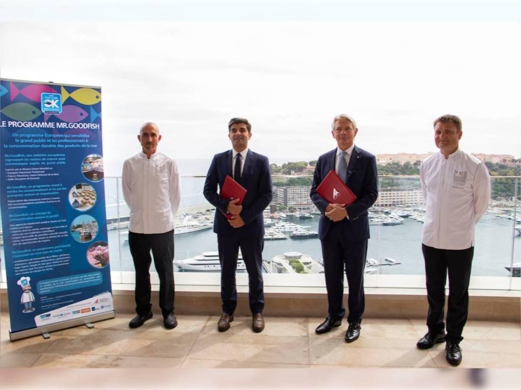 Les Restaurants de l'Hôtel de Paris Rejoignent Mr.Goodfish