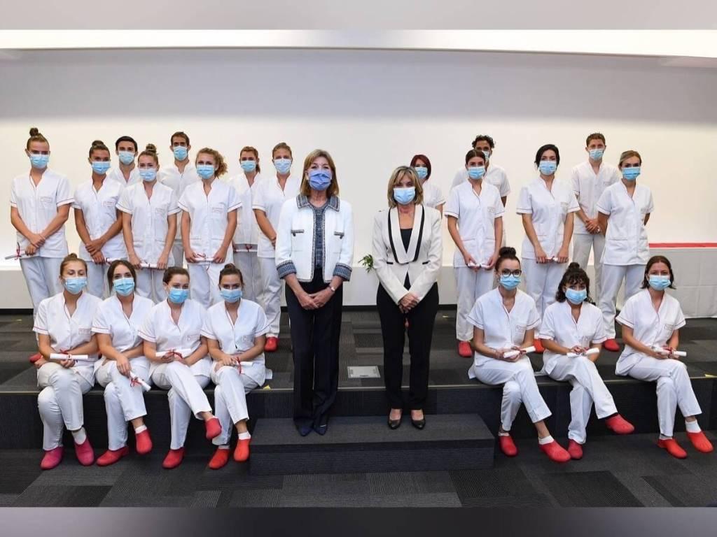 Cérémonie de remise des diplômes et insignes 2020 Infirmiers et aides-soignants