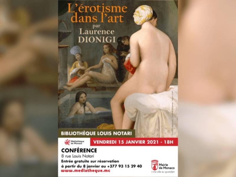 Conférence « l'érotisme dans l'art »
