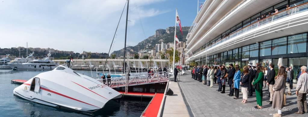 Camille Gottlieb, marraine de la navette Monaco One