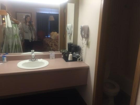 Bathroom and vanity