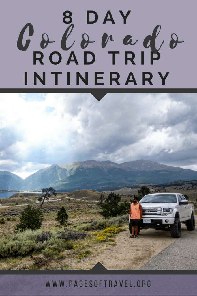 From the serene mountains, epic winding roads, and foodie destinations these places to visit on a Colorado road trip are perfect for your next adventure!