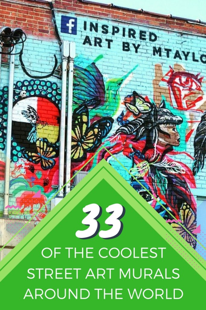 Feast your eyes on some of the coolest street art installations that have been popping up all over major cities and small towns across the globe!
