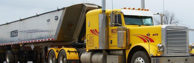 Jordan MN  Page Trucking Inc
