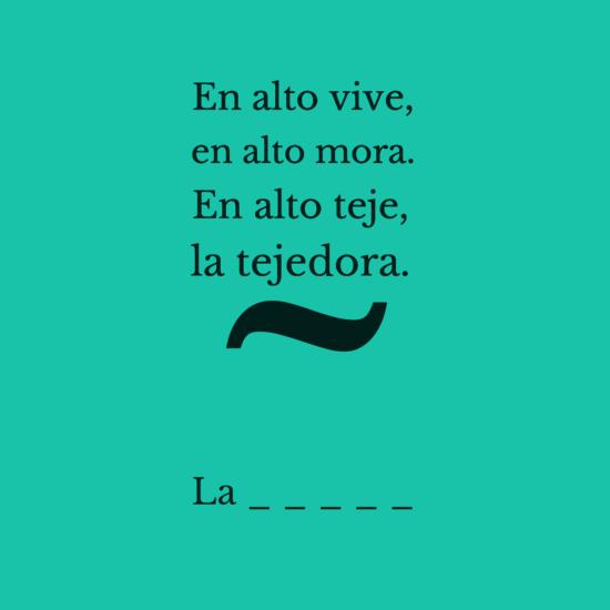 spanish riddle