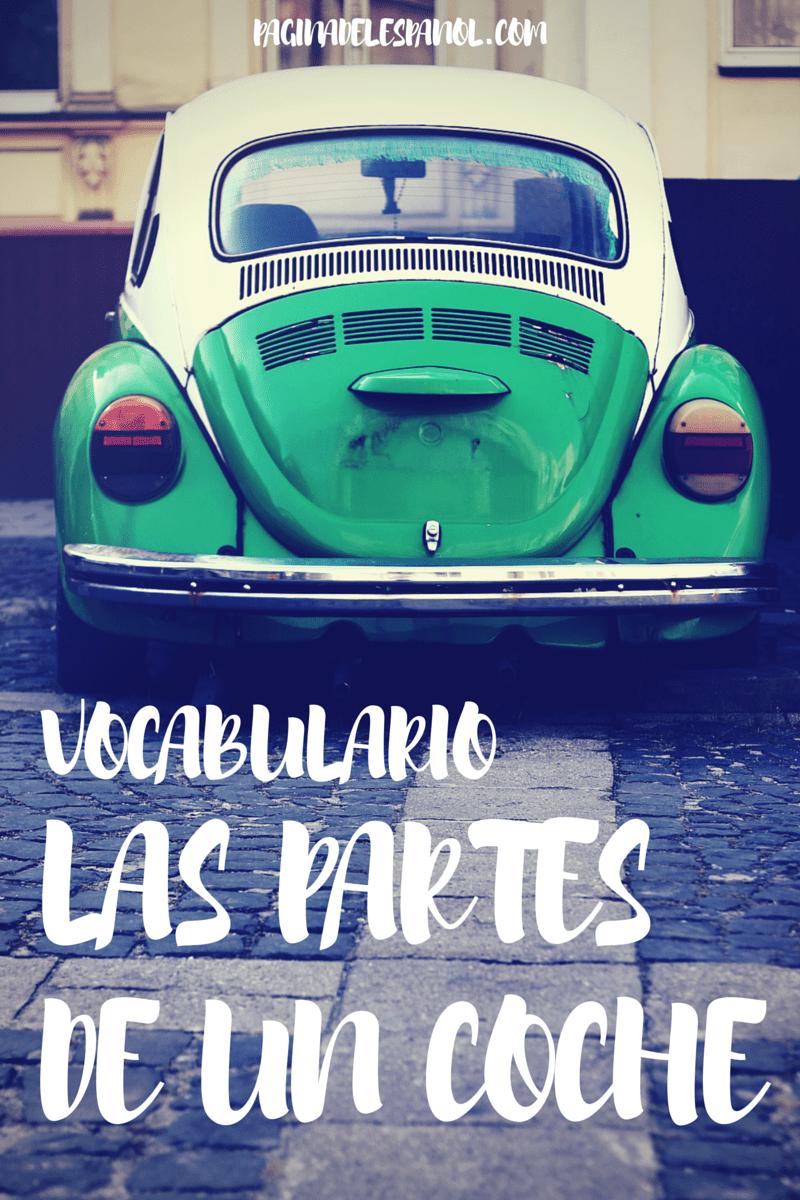 car vocabulary in spanish