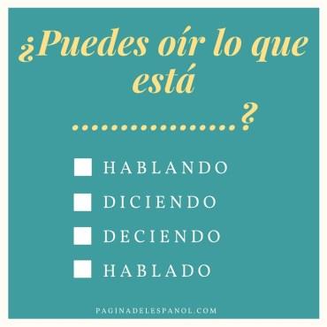 español rápido