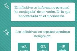 infinitivo en español