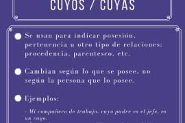 Cuyo, cuya, cuyos, cuyas