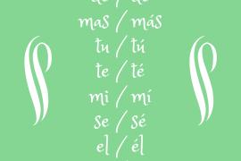 Acentos diacríticos en español