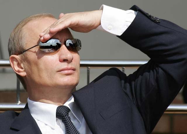 Putin se uita in zare