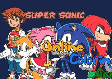 Gioco Colora Sonic