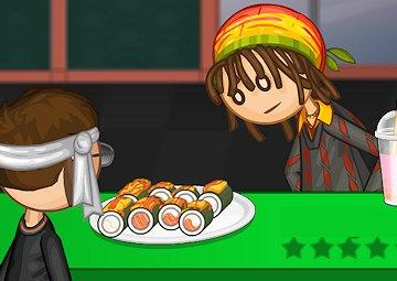 Gioco Papa Louie sushi