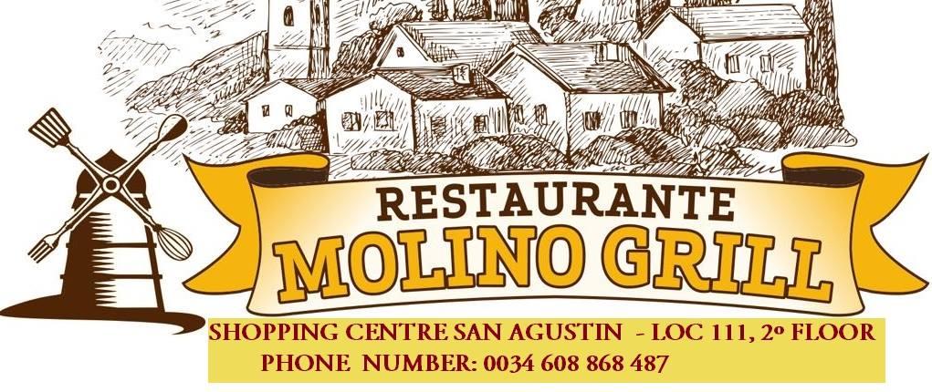 logo restaurante molino grill san agustin