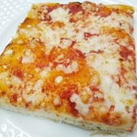 pizza margherita al corte