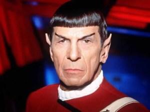 Leonard Nimoy in Spock
